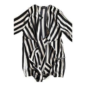PLT Black & White Blouse